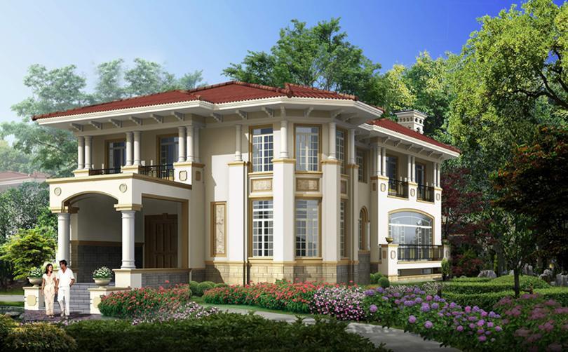 钢结构新型别墅效果展示7